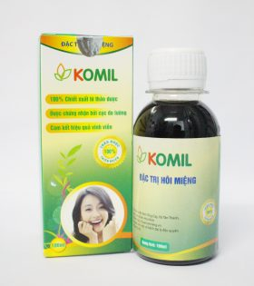Komil – Thảo dược xúc miệng hỗ trợ điều trị hôi miệng Hiệu Quả