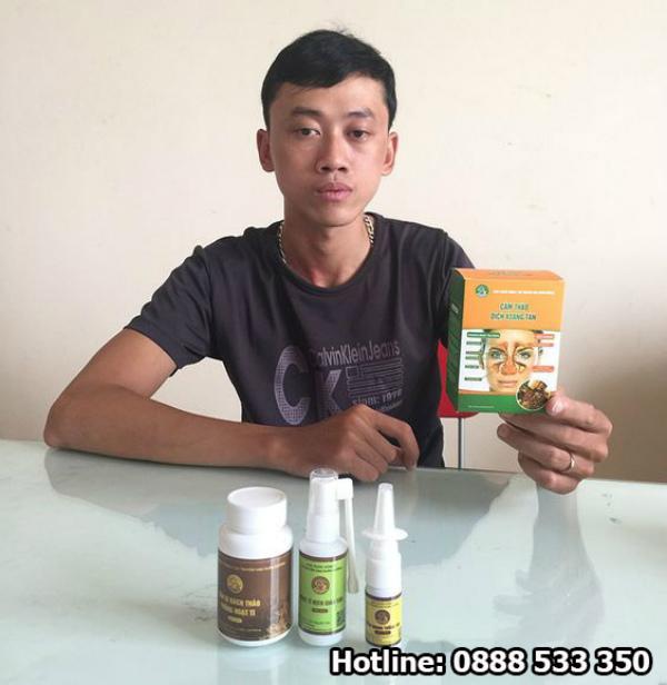 Phản hồi khách hàng Cẩm Thảo Dịch Xoang Tán