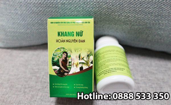 Tác dụng phụ thuốc Khang Nữ Hoàn Nguyên Đan