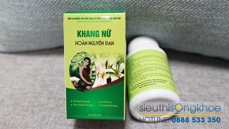 Thuốc Khang nữ hoàn nguyên đan bán ở đâu TP. Hồ Chí Minh và Hà Nội