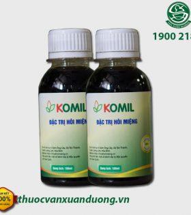Thảo Dược Ngậm Komil (liệu trình 2 hộp) – Hỗ Trợ Điều Trị Hiệu Quả Mùi Hôi Ở Khoang Miệng