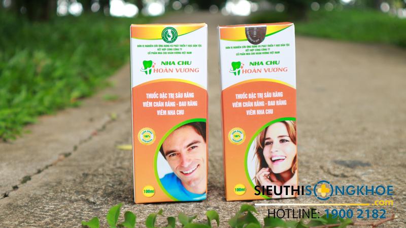 Nha Chu Hoàn Vương – 1 trong top 4 sản phẩm điều trị viêm nha chu hiệu quả